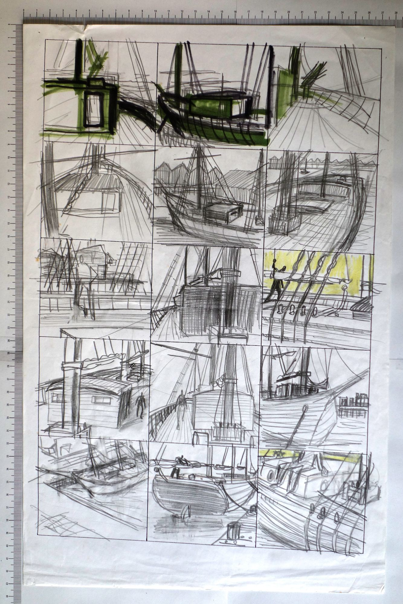 Planche/Croquis Storeyville