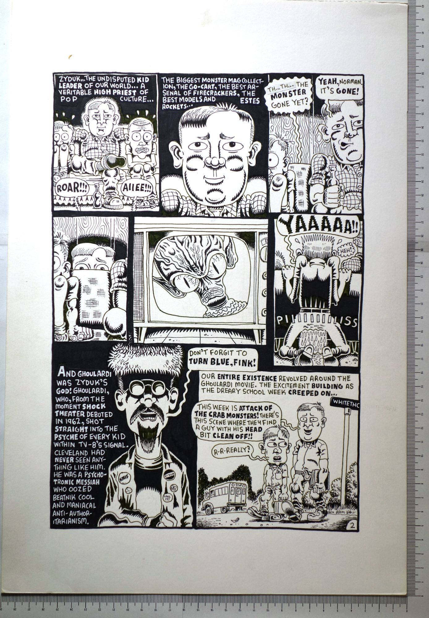 Ghoulardi and me, planche