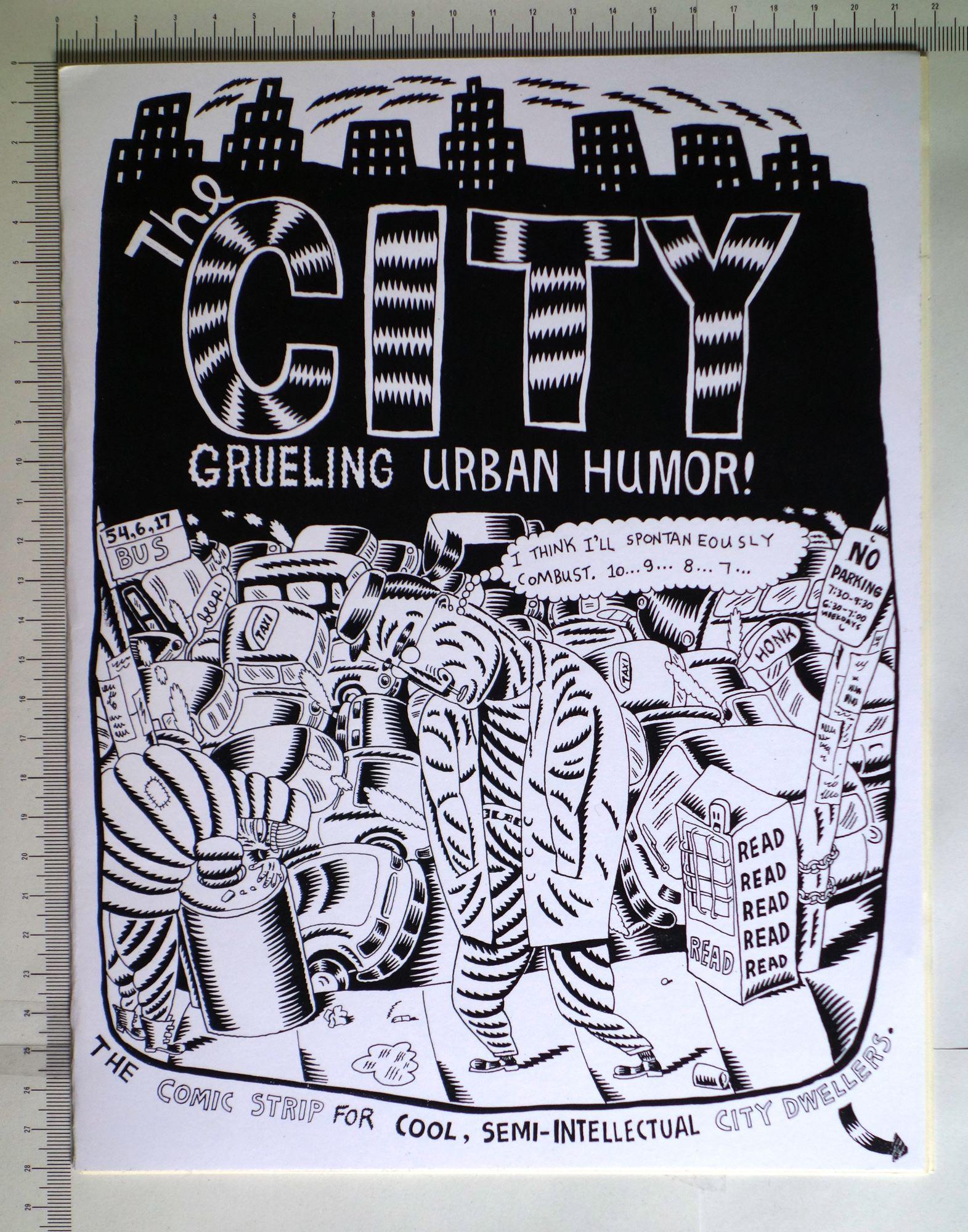 The city, fanzine