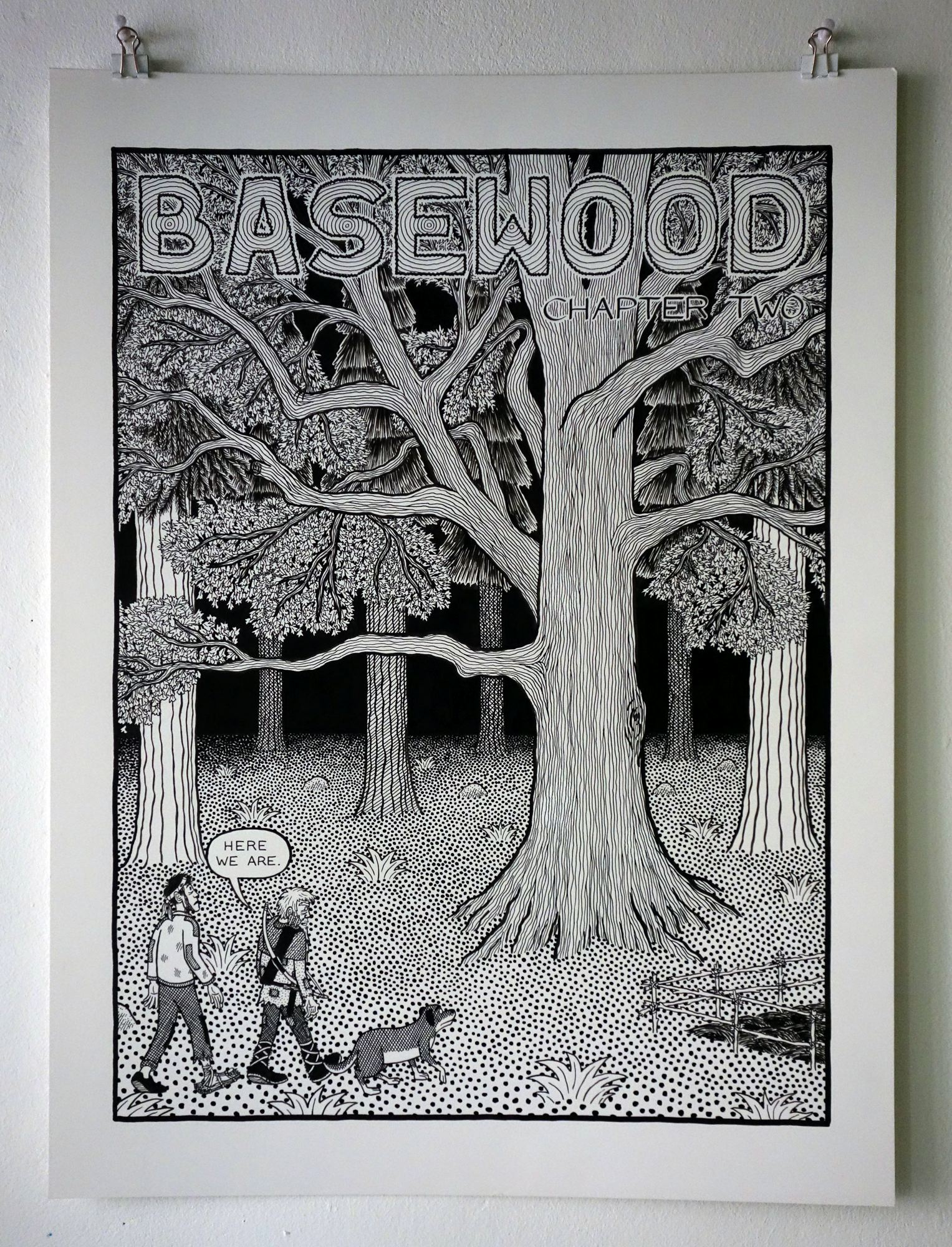 Planche de Basewood
