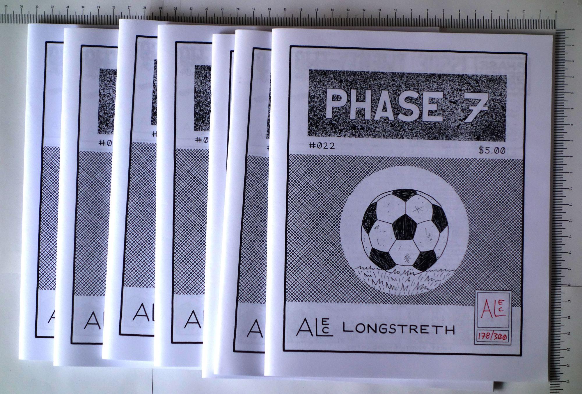 7 exemplaires de Phase 7