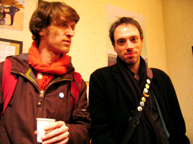 Laurent Dandoy et Thomas